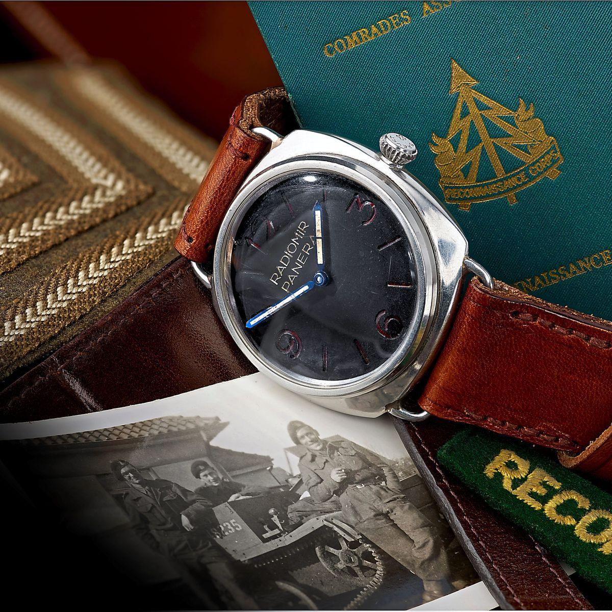The Rolex Panerai Military Diver watch