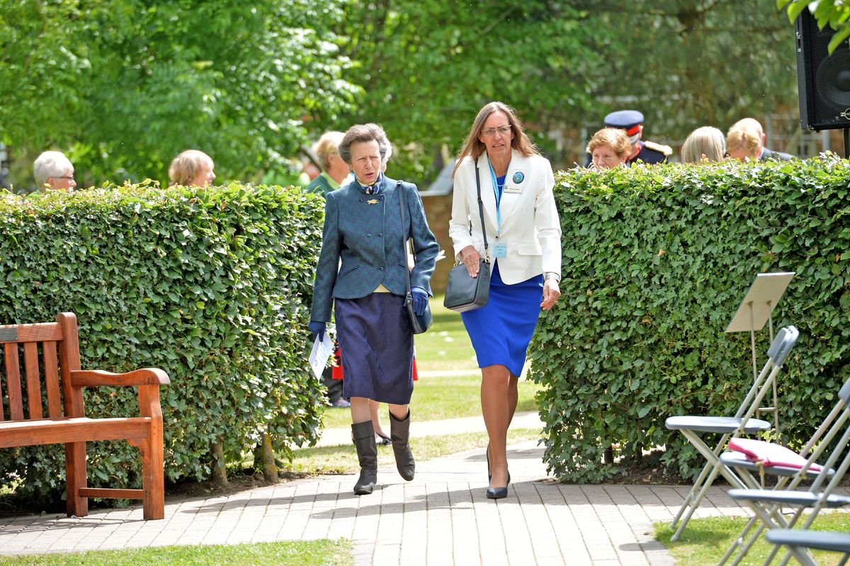 The Princess Royal arrives