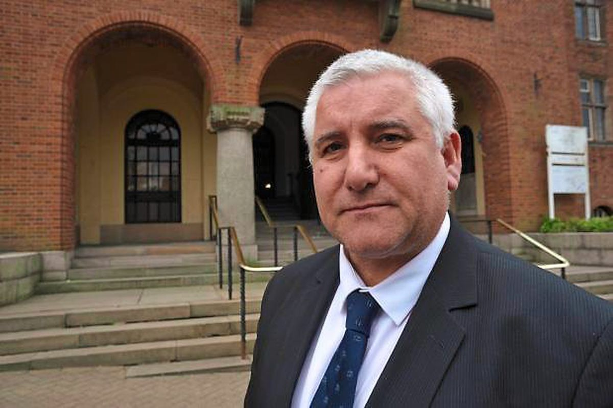 Councillor Patrick Harley, the leader of Dudley Council