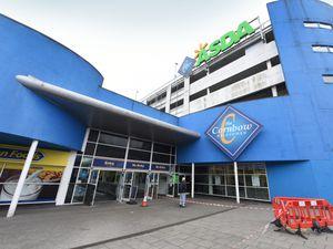 Cornbow Shopping Centre in Halesowen