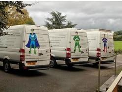 Five vans stolen following raid in Warley