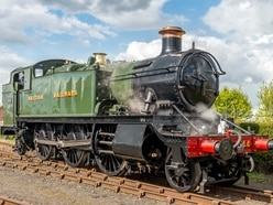 Special guests steam in for Severn Valley Railway's spring gala