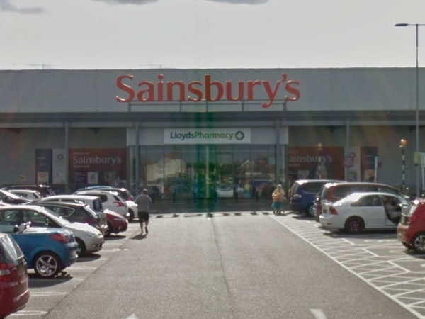 Arrest as Sainsbury's staff have cars keyed after queue-jumper thrown out