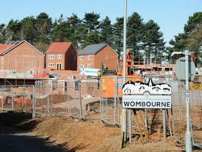 Wombourne housing development ceases building work