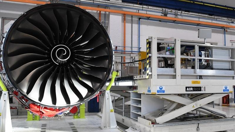 7,000 Rolls-Royce Jobs Secured With Firm's £150m