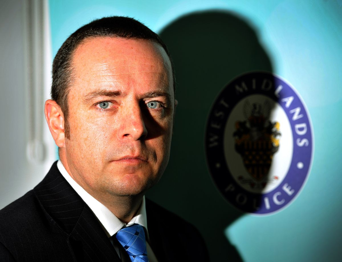 West Midlands Police's Det Supt Tom Chisholm