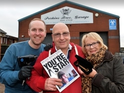 Robert retires after 48 years at Cannock garage