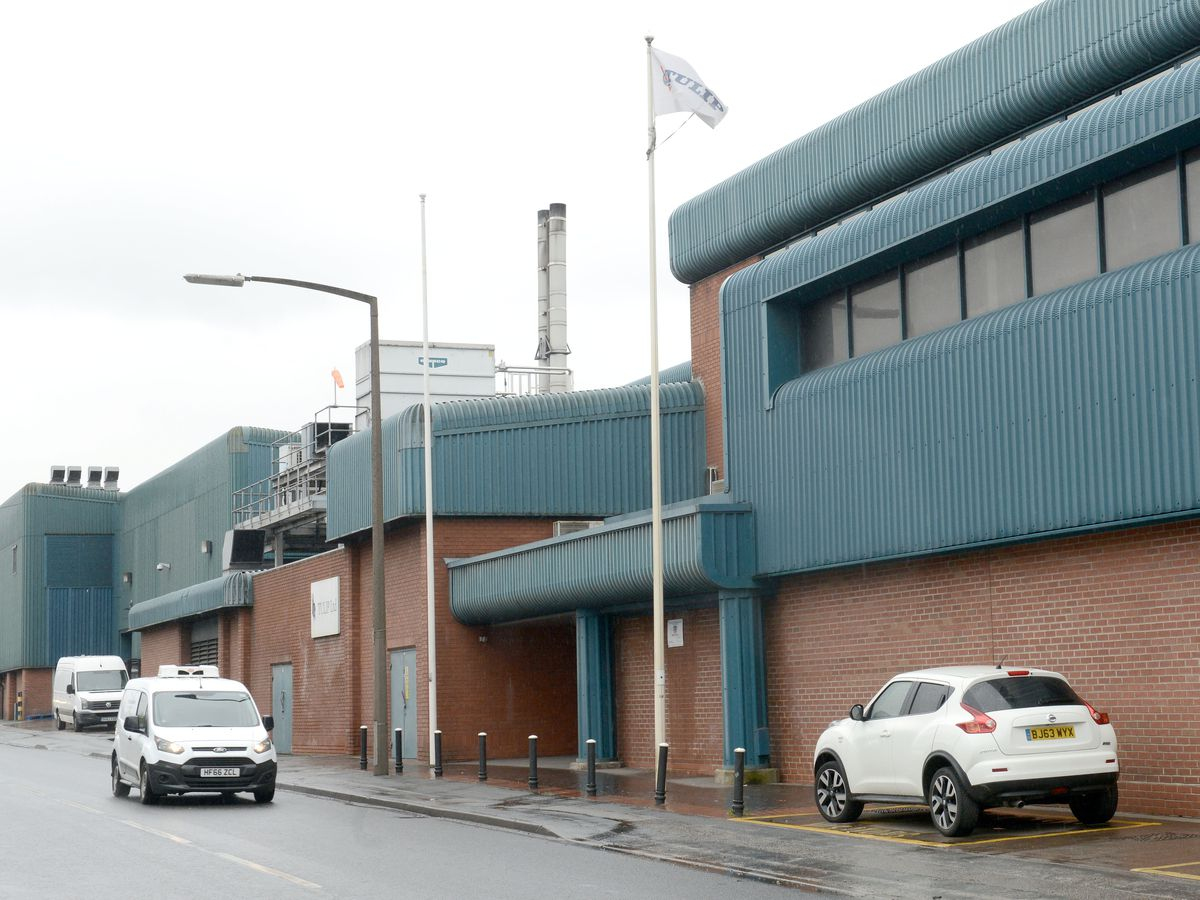 The Tulip factory in Tipton where Covid-19 cases have been confirmed
