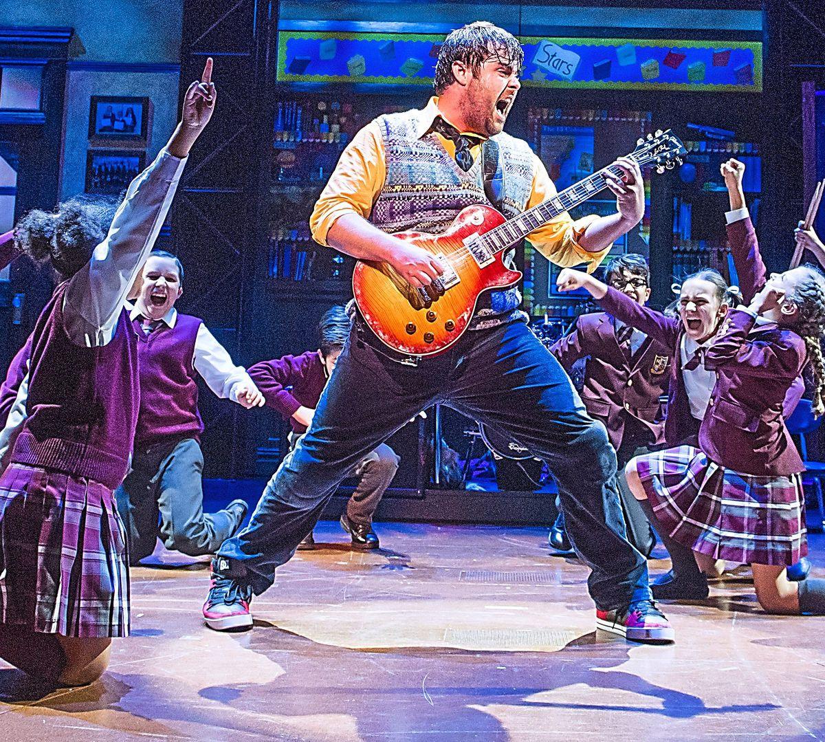 School of Rock is coming to Wolverhampton Grand Theatre in September