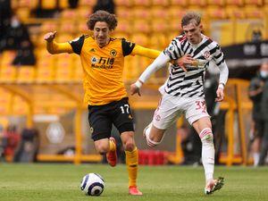 Fabio Silva of Wolverhampton Wanderers (AMA)