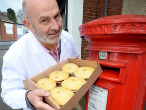 Pete Towler of Mad O'Rourke's Pie Factory, Tipton, recently launched a 'Pies by Post' scheme