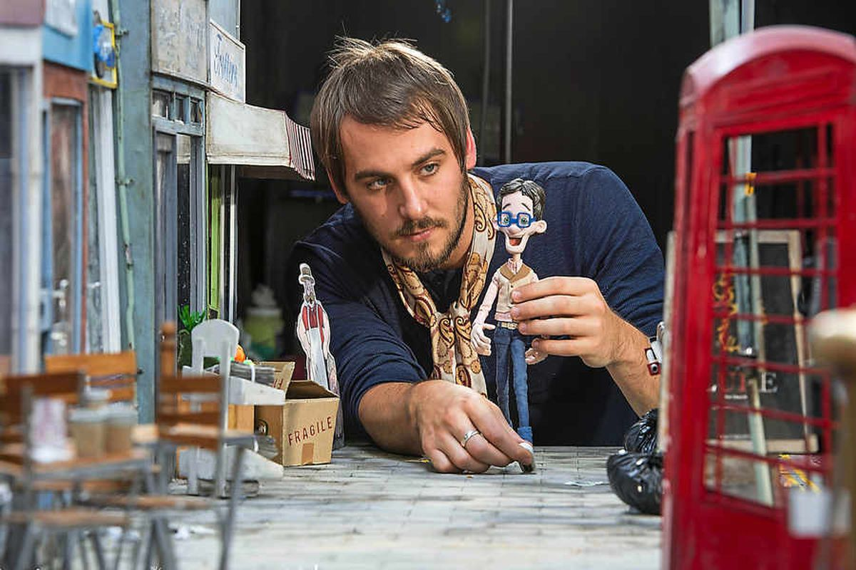 Real life: From tea making to dream chasing, animator Drew Roper is the next big thing. . .