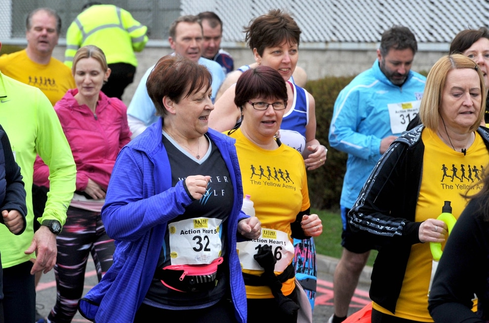 Pics all smiles at annual charity race express star for Charity motors 8 mile lahser