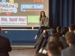 Rotherham abuse victim tells Walsall pupils to speak out