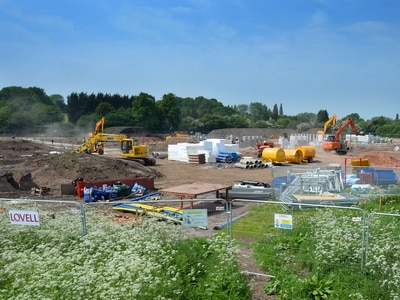 Work starts on homes at former Stafford Rugby Club site