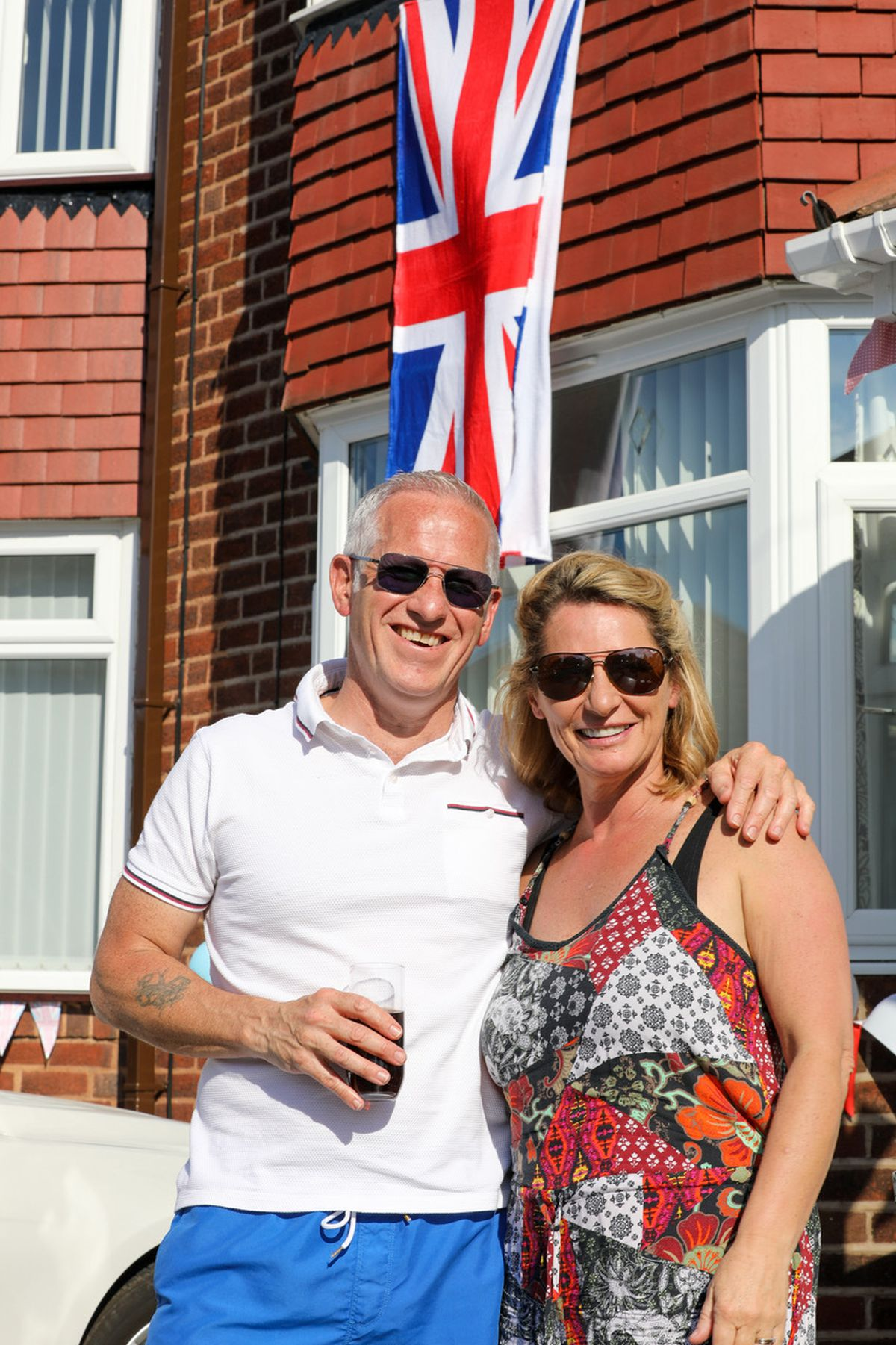 Celebrations in Shaftesbury Road, Wednesbury. Pic: Kennett Photography