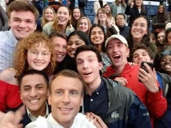 Emmanuel Macron gives students the ultimate excuse for being late to class