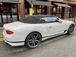 Bentley driver sees luxury vehicle towed away by police
