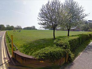 The entrance to Westbridge Park in Stone. Photo: Google