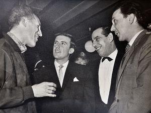 Bruce Forsyth, Roy Castle, Ben Warris and Ken Dodd