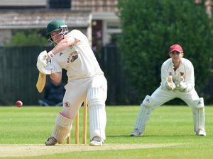 SPORT  COPYRIGHT TIM STURGESS EXPRESS AND STAR...... 15/08/2020.....Shifnal v Wolverhampton Birmingham League cricket. Wolverhampton in bat. Pictured, Jack Stanley....