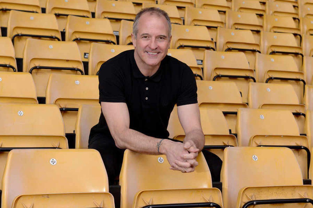 Wolves legend and vice-president Steve Bull
