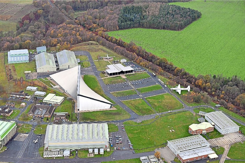 RAF Cosford: Hundreds of jobs to be created at new aviation