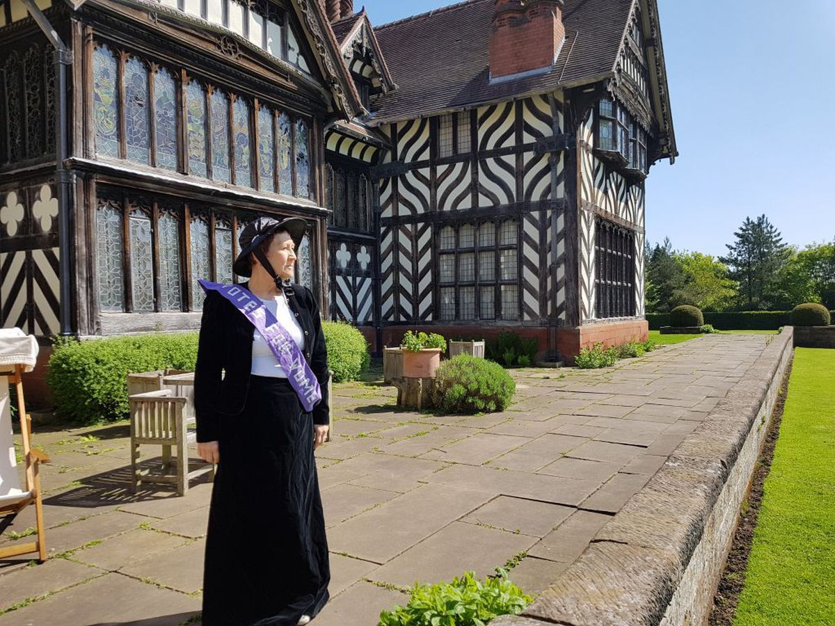 There will be live entertainment at Wightwick Manor