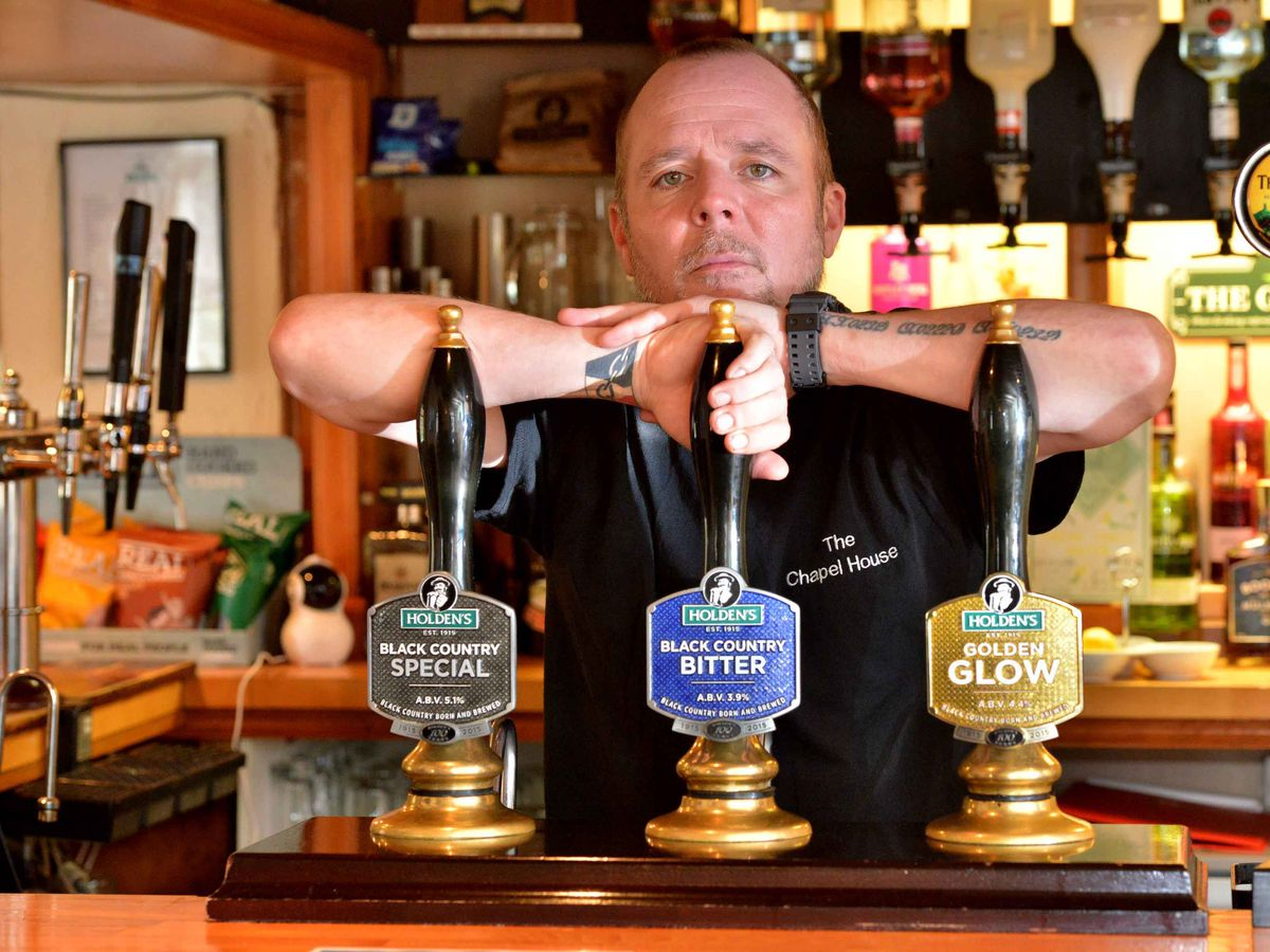 James Stevens is landlord of The Chapel House pub