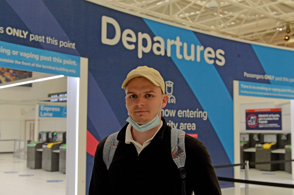 Alex Taylor, from Birmingham, was headed to Portugal to reunite with his girlfriend