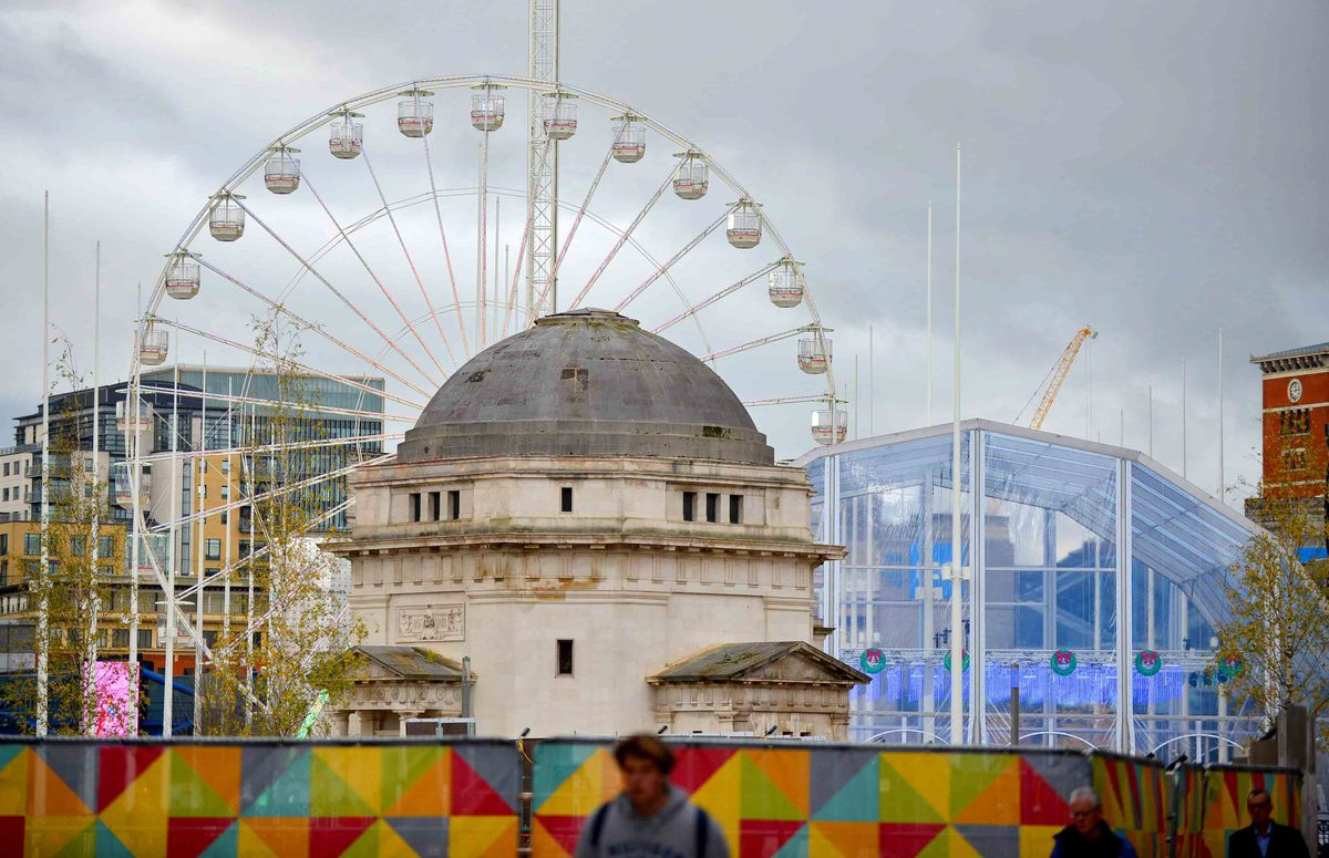 The 'Brum Wheel' back in place in Centenary Square for the first time since the major revamp