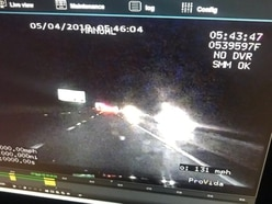 131mph: Speeding drivers caught by unmarked police car
