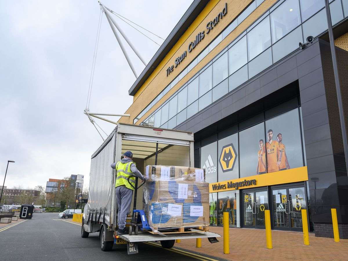 Wolves' owners Fosun donate huge cargo of protective clothing to New Cross in heart-warming gesture