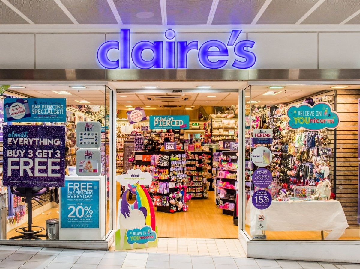 Accessories chain Claire's mulling store closures ...