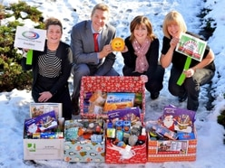 Staff step up to help Feed a Family call