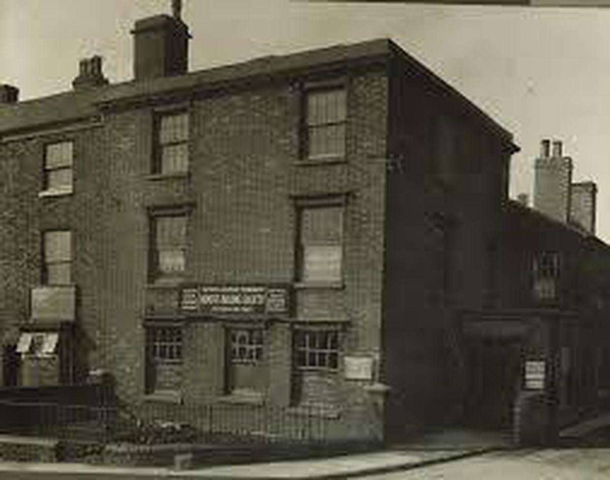 The original Tipton head office