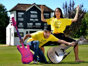 Return – Bash and Valentina Lia ahead of the music festival to be staged at Tettenhall Cricket Club later on this month