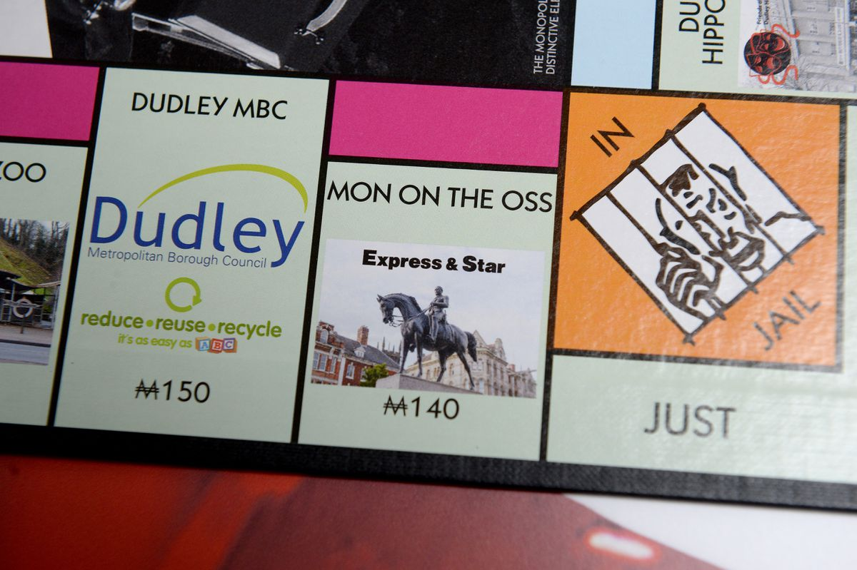 The Express & Star and 'Mon on the Oss' feature on the limited edition game