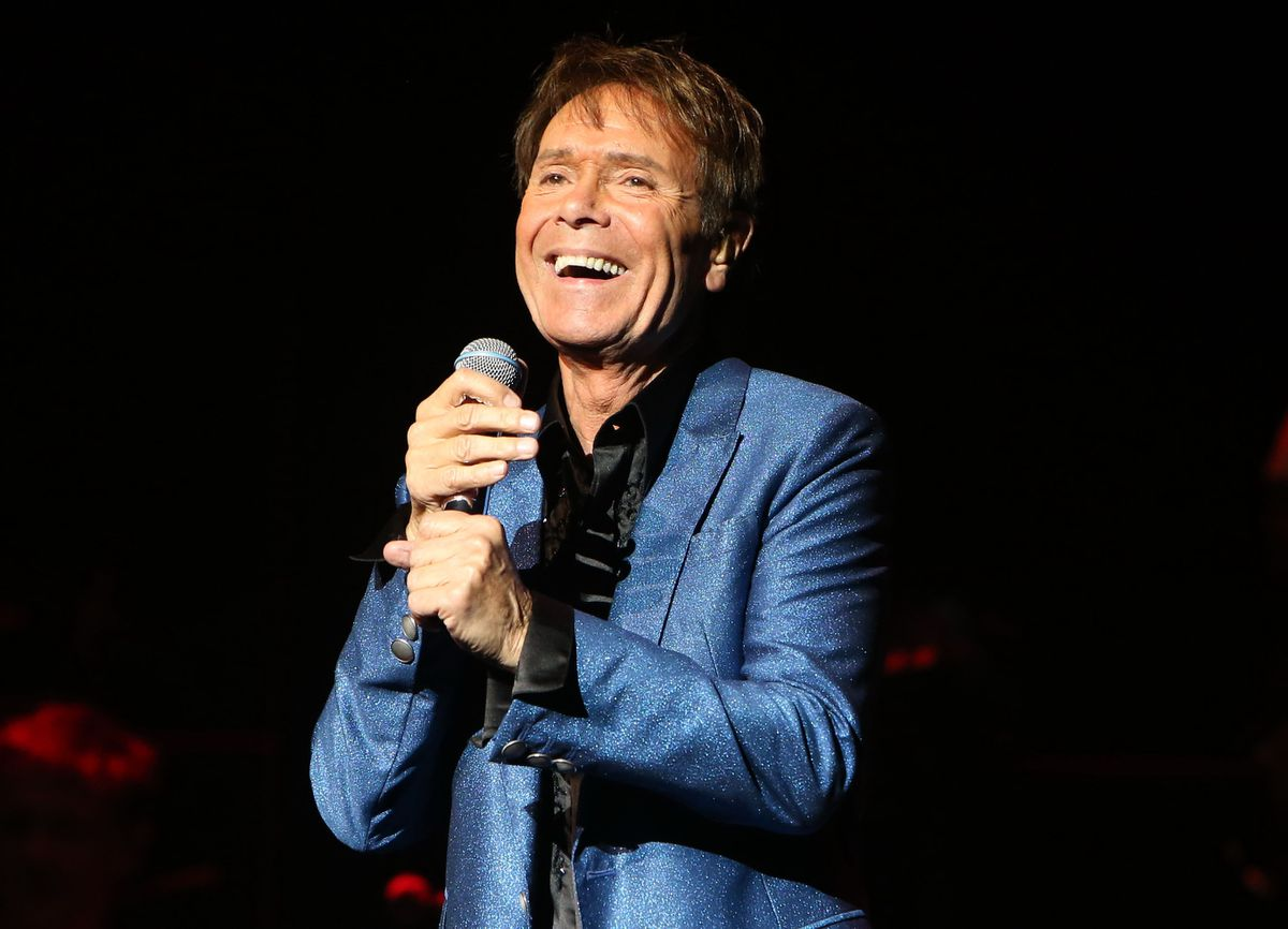 Sir Cliff Richard celebrating his 60 years in showbusiness. Picture: Don Birch