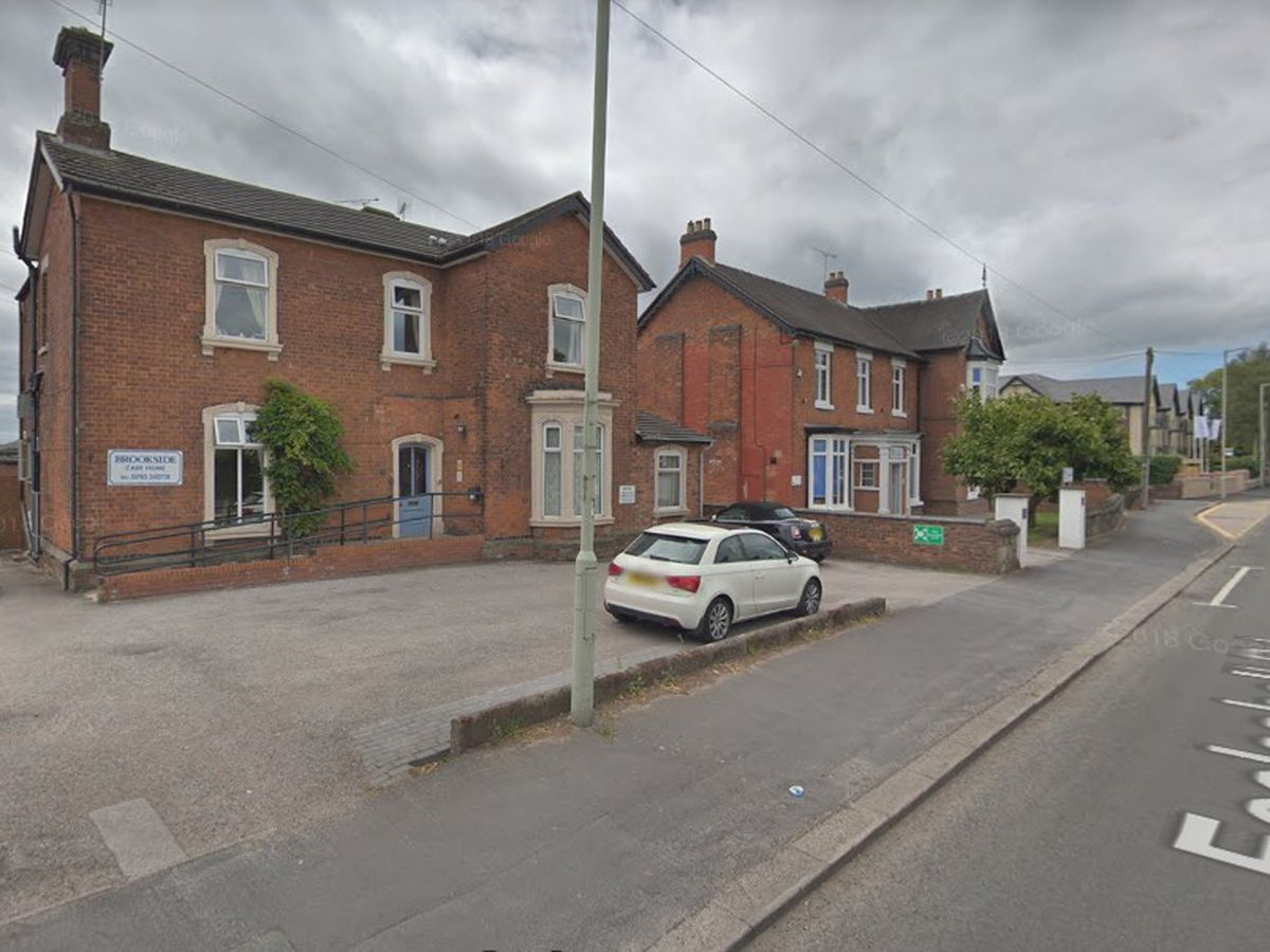 Brookside Care Home on Eccleshall Road, in Stafford. Photo: Google Maps