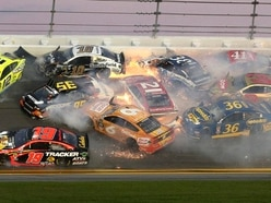 Massive crash takes out 21 cars in final stages of Daytona 500