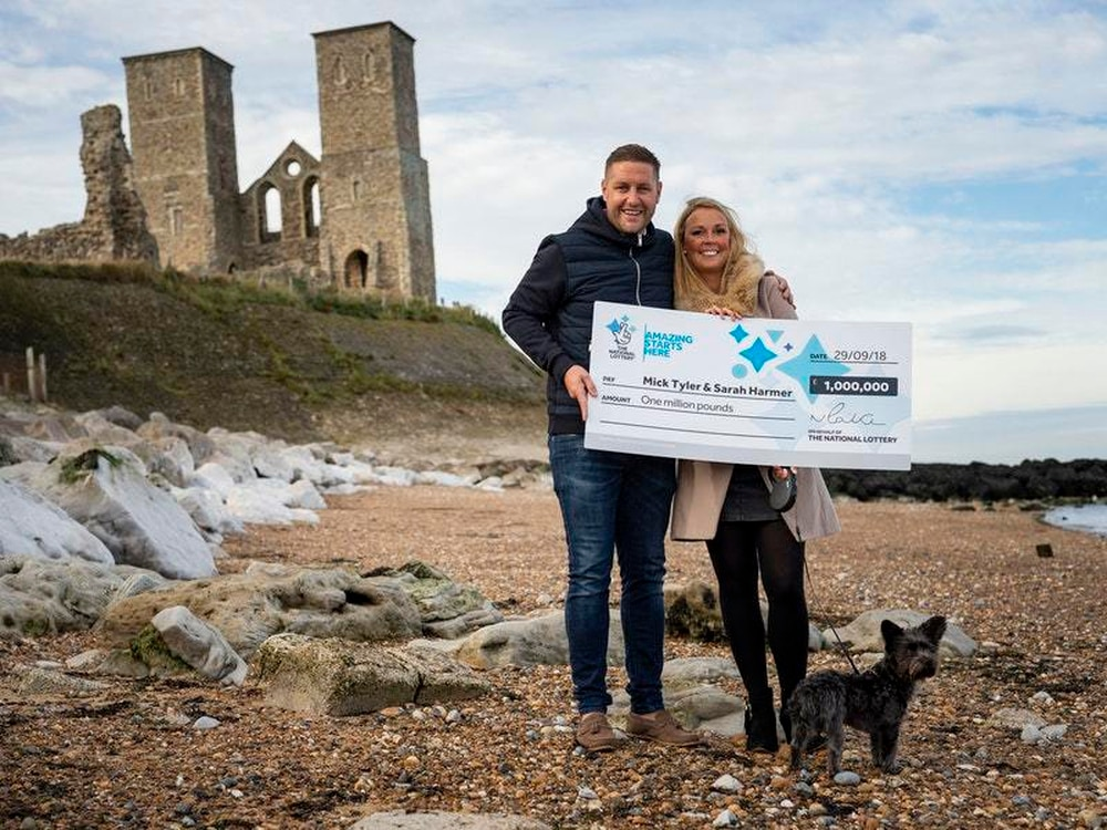 Early wedding and dream home for £1m lottery winners