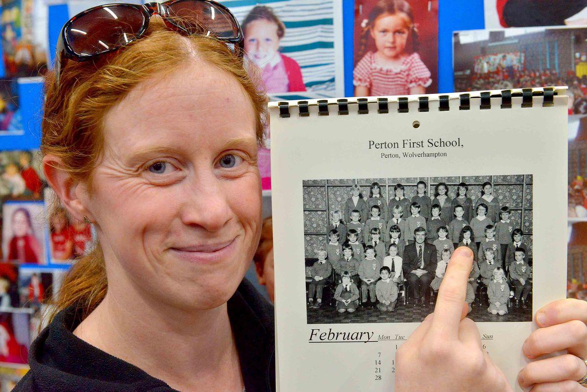Amanda Newman finds herself on a calendar