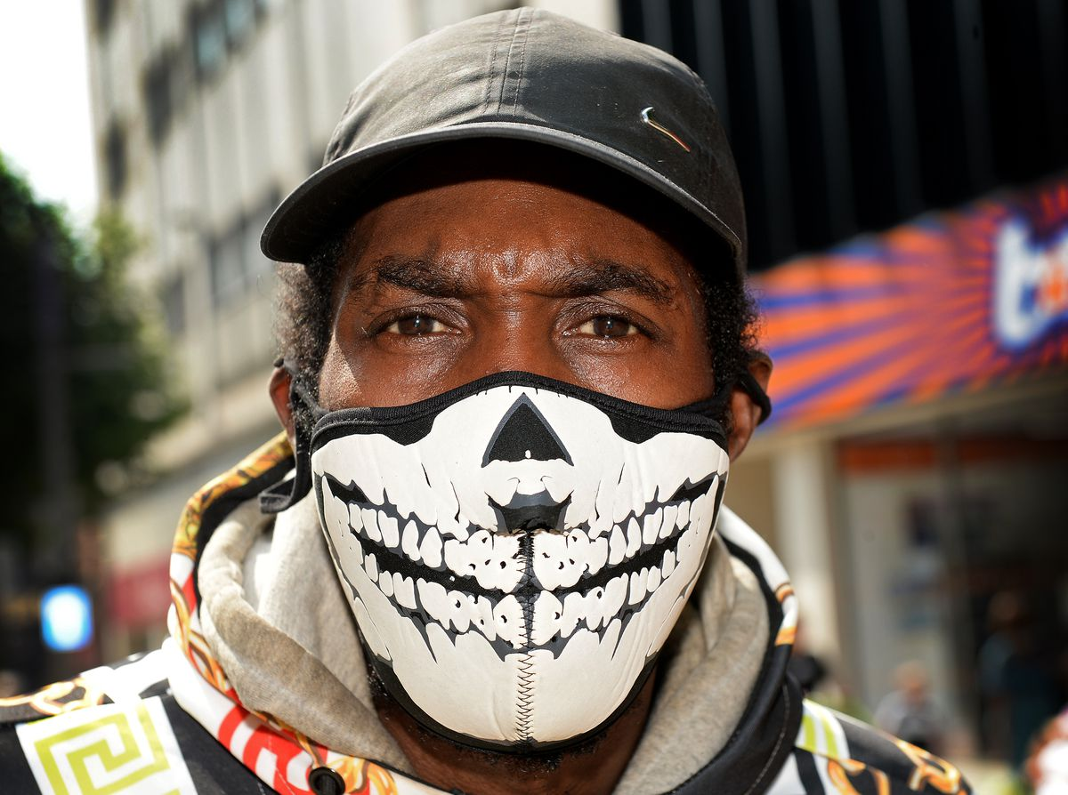 Davie Fuhrer said it was essential for people to wear masks to keep everyone safe