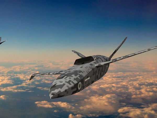 Unmanned combat aircraft