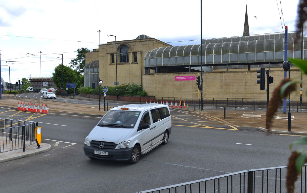 The turning onto Pipers Row from Bilston Street has finally opened