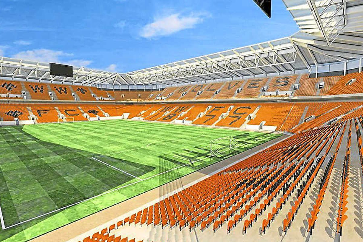 £40m plans to expand Molineux to 37,000 seats, unveiled in 2010, are on the back burner
