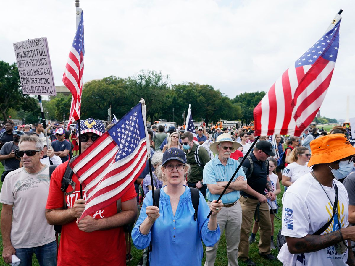 The Capitol rally
