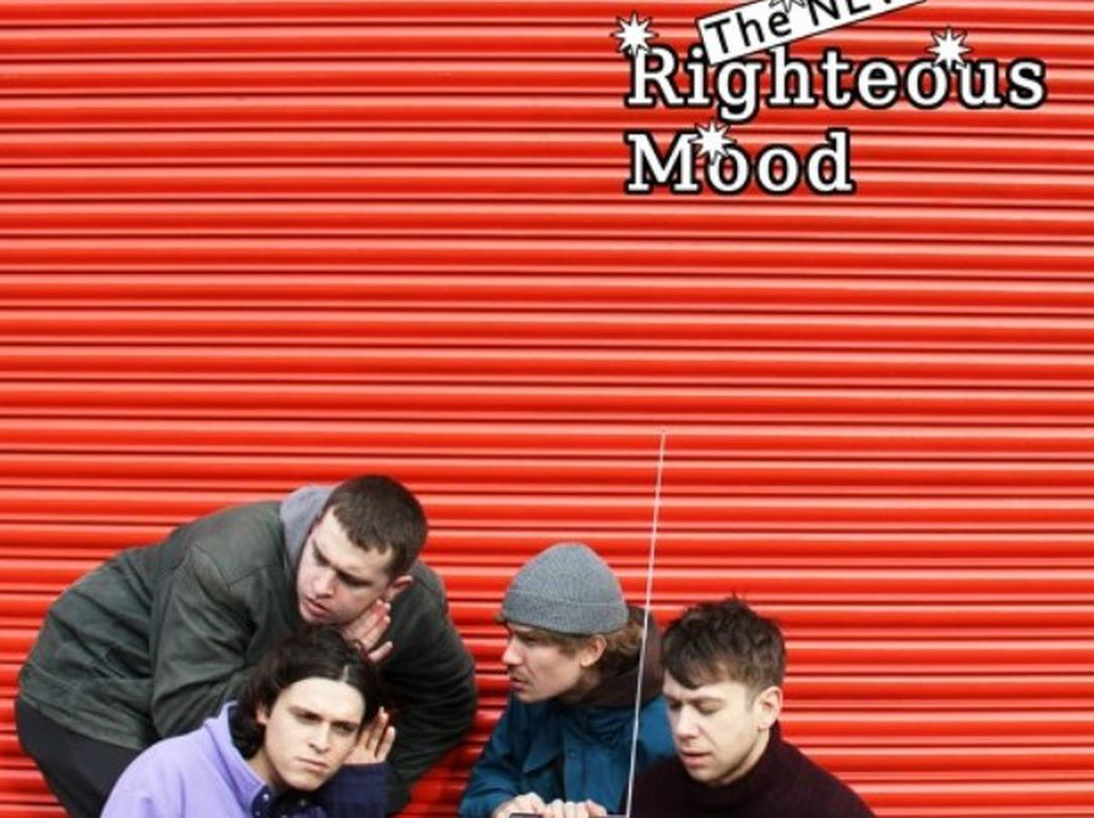 The cover for The New Righteous Mood's new EP