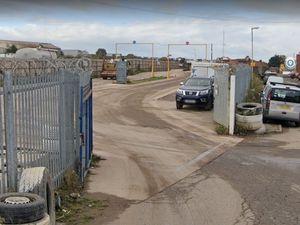 The Pegasus recycling site in Bott Lane, Lye Stourbridge
